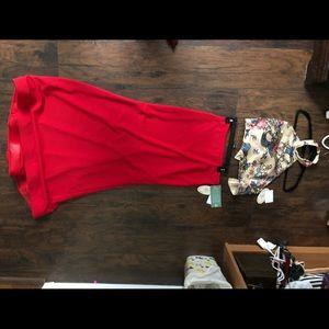 NWT Two-Piece Prom Dress. Size 11